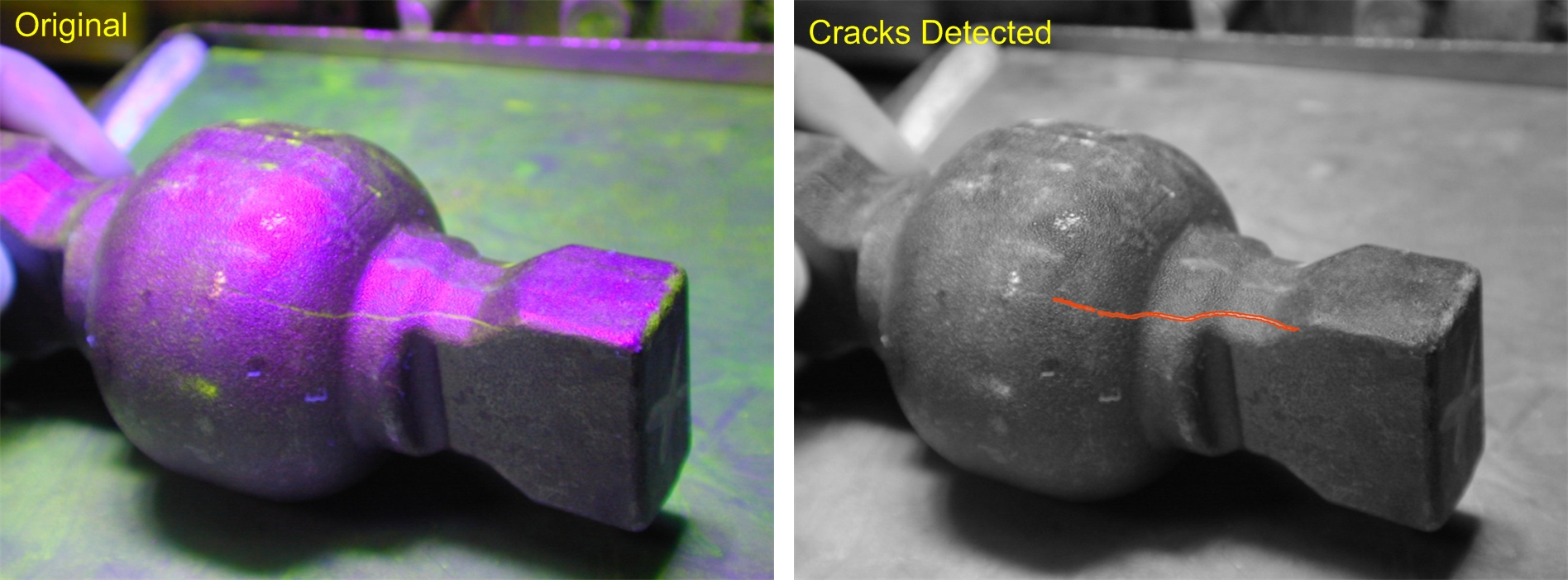 crack testing methods